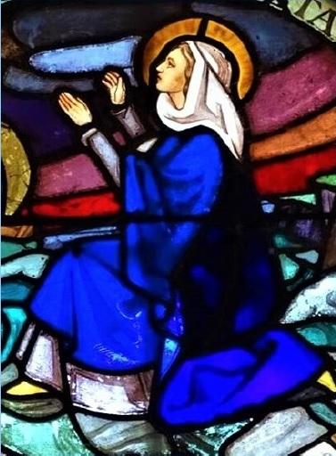 Notre Dame de l'agenouillade Vierge Marie apparition oculus1